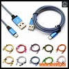 Cable USB 8 Pines 2 en 1 datos de Carga Cable USB para iPhone 5 5c 6 6s - Foto 5