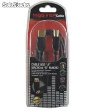 "Cable usb ""a"" macho a ""b"" macho - MC-4USB-A-B"