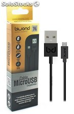 cable usb a micro usb 1.2m serie gold biwond PEC03-7615