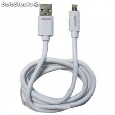 Cable usb de datos y carga approx APPC32 a lightning y microusb - para