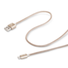 Cable usb-microusb textil gold