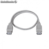 Cable USB nanocable 10.01.1300 - conectores a/hembra a/hembra - 50cm - color