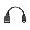 Cable usb otg nanocable 10.01.3500 - adaptadores micro usb macho a usb hembra -
