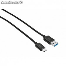 Cable usb tipo-c trust urban 21175 - conectores usb tipo-c/usb a - 1 metro