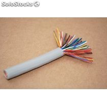 Cable utp 50 pares cat 5E 300 mts color gris cobre