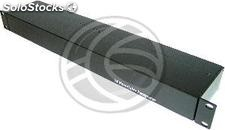 """Cable utp concentrator rack 19 \""""16 RJ45 to 4 RJ45 dc TDP016 (SI73)"""
