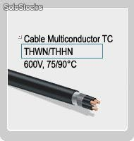 Cable Viakon Multiconductor Tc Thwn/Thhn 600 V, 75/90 C