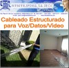 Cableado voz datos video