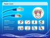 Cabo de Ftp cat5e cat6 patch cable