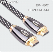 Cabo HDMI com ethernet para 3D, DVD, hdtv, Home Theater