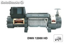 Cabrestante Electrico dragon winch dwh 12.000 hd - 5.443 Kg