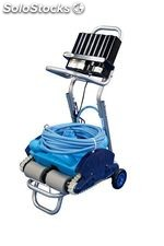 Caddy Cart Pool Cleaner Robot