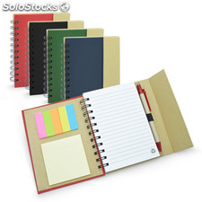Caderno Espiral com Post-it para Brindes Corporativos