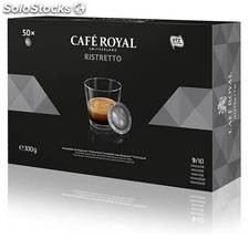 Café royal ristretto 50 cápsulas compatibles nespresso pro - cafe royal -