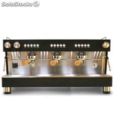 Cafetera Ascaso barista 3GR Black Wood
