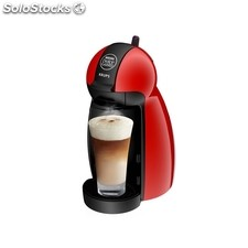 Cafetera dolce gusto krups piccolo kp1006pk roja