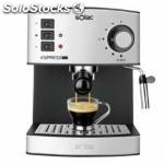 Cafetera expreso solac CE4480 / 19 bar inox