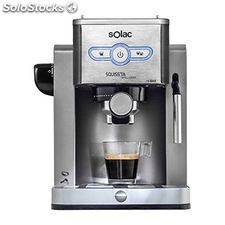 Cafetera Express de Brazo Solac CE4494 New Squissita Intelligent 19 bar 1,25 L