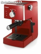 Cafetera express philips-saeco HD8423/22 poemia focus red