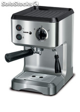 Cafetera FAGOR CR-1500 express 15 bar frontal acero 1050W Ref: 961010040 inox