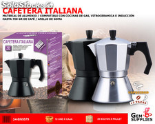 Cafetera italiana 12 tazas - we houseware