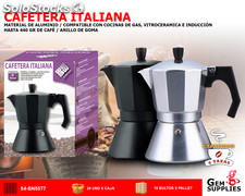 Cafetera italiana 6 tazas - we houseware