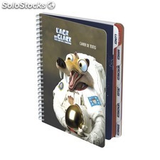 Cahier texte age 2GLACE 17X22