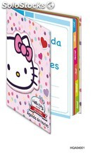 Cahier texte hello kitty 17X2