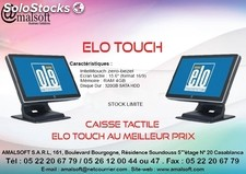 Caisse tactile elo touch