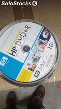Caixa hp 10 DVD + r (4.7gb, 16x) Inkjet Printable