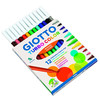 caja 12 uds rotulador turbo color giotto, punta super resistente de 2.8 mm, tint