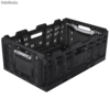 Caja Active Lock plegable y apilable, robusta
