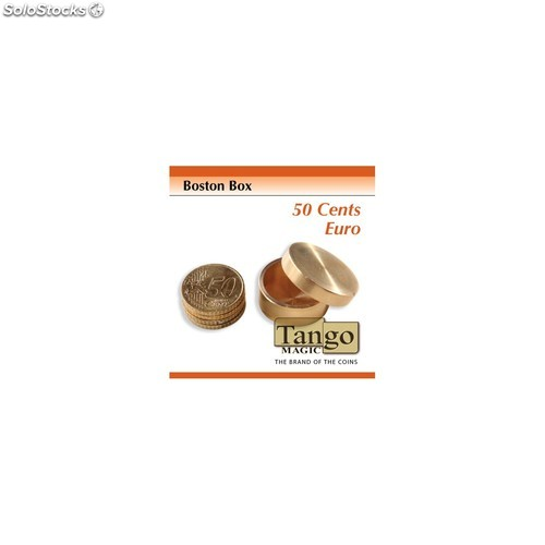 Caja boston bronce 50 cent € (b0006)
