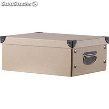 Caja cartón rectangular color asas mediana - b and b - 8430026782574 - 57753