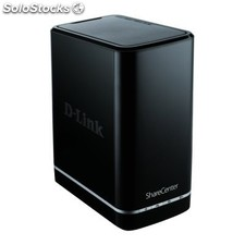Caja d-link dns-320L ShareCenter Cloud nas 2 Bay no/hd