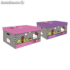 Caja lito multiusos hello kitty 53X40X26 - colores surtidos - confortime -