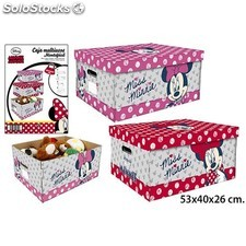 Caja lito multiusos minnie 53X40X26 cm - colores surtidos - disney - minnie -