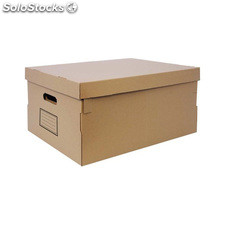 Caja multiusos marrón 53X40X26CM - confortime - 8433774606420 - BY05020160642