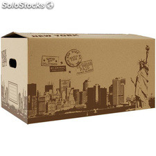 Caja multiusos new york city 40X25X20CM confortime - confortime - 8433774637141