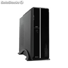 Caja pc atx satycon S602BS negra 300W slim