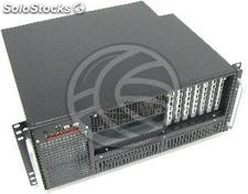Caja rack19 ipc atx 4U F380mm 2x5.25 6x3.5 RackMatic (CK36)