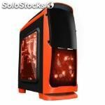 Caja sobremesa coolbox gaming deep sting ii orange edition . atx , usb 3.0,