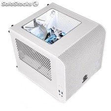 Caja thermaltake ca-1B8-00S6WN-01 Mini-itx Core V1 blanco
