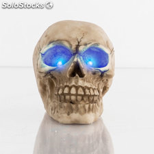Calavera Decorativa con LED