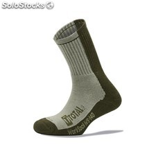 Calcetin Invierno 39-42 Worksock Ws140 Coolmax/Algodon/Spandex/Elastan Gris To