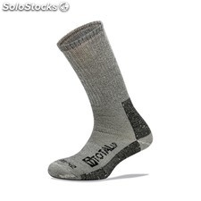 Calcetin Invierno Hombre Gris 3L Worksock Ws180 T39-42