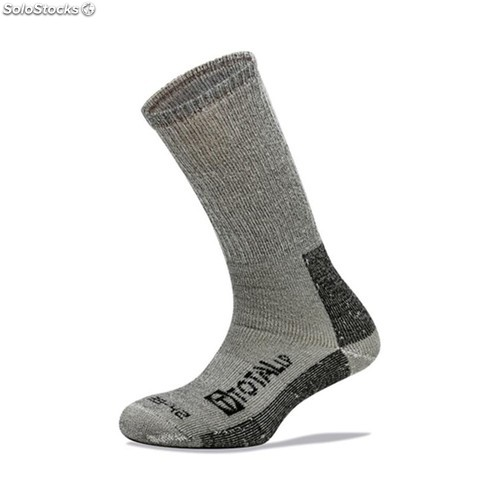 Calcetin Invierno Hombre Gris 3L Worksock Ws180 T43-46