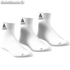 Calcetines hombre adidas pack 3uni. aa2320 blancos