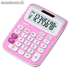 Calculadora Casio MS-6NC Rosa