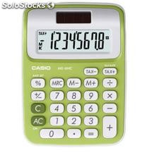 Calculadora casio MS6 colores